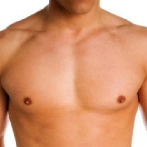 άνδρας στήθος χωρίς γυναικομαστία